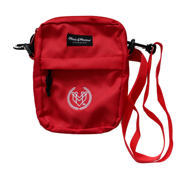 M4MC Shoulder Bag - Red - Made4Mankind Clothing
