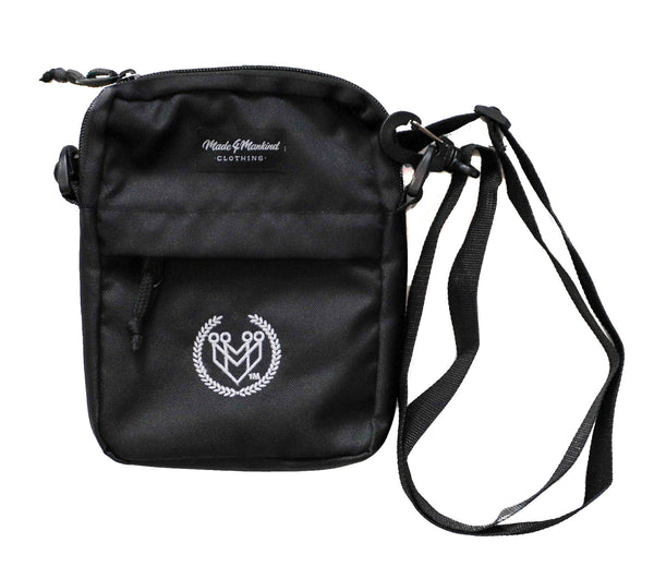 M4MC Shoulder Bag - Black - Made4Mankind Clothing