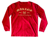 MADE OLD ENGLISH L/S - RED - Made4Mankind Clothing