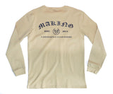 MADE OLD ENGLISH L/S - COOKIE DOUGH - Made4Mankind Clothing