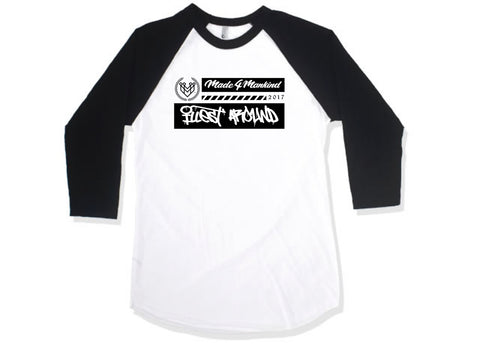 M4MC X ILLEST AROUND BASEBALL TEE - Made4Mankind Clothing