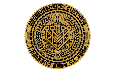 "M4MC ""MadeCoin"" Sticker - Made4Mankind Clothing"
