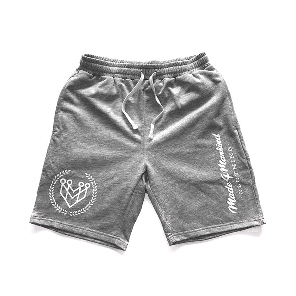 M4MC LOGO SWEAT SHORTS - Made4Mankind Clothing