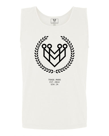 Classic Logo Tank (White) - Made4Mankind Clothing