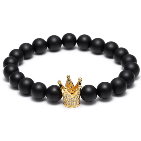 KING CROWN BRACELET - Made4Mankind Clothing