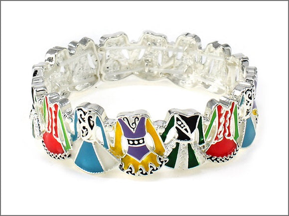 Irish dance dress bracelet