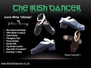 Iconic white top hardshoe
