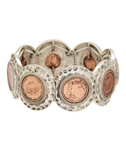 Irish Penny bracelet