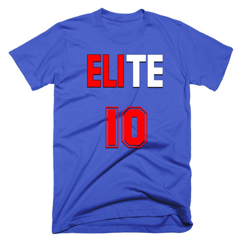 eli manning elite new york giants tshirt #10
