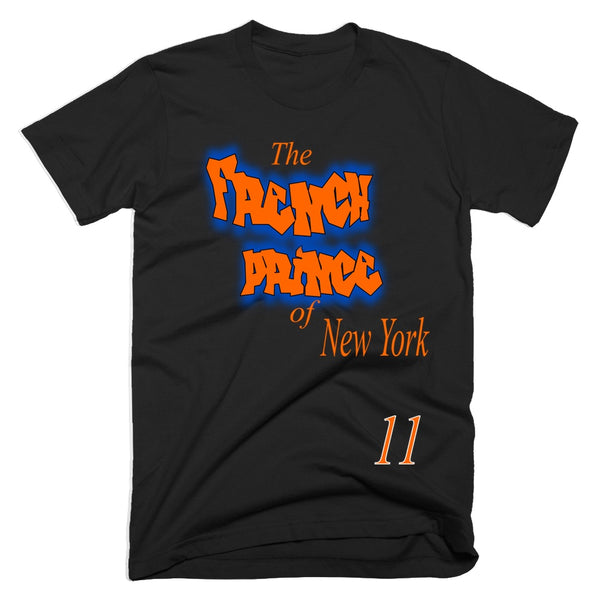 the french prince of new york frank ntilikina tshirt