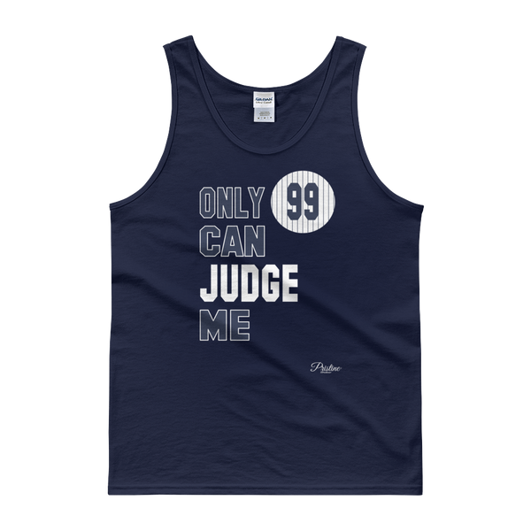 only 99 can judge me aaron judge yankees tank top