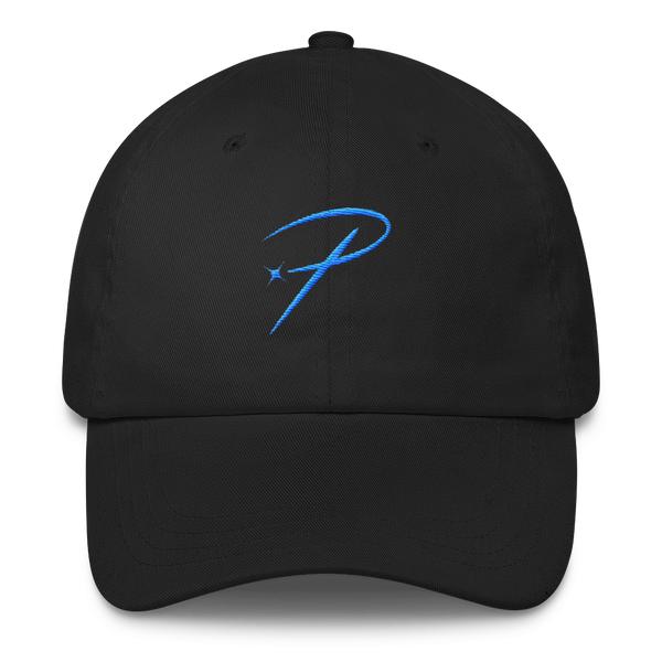 pristine streetwear black dad hat