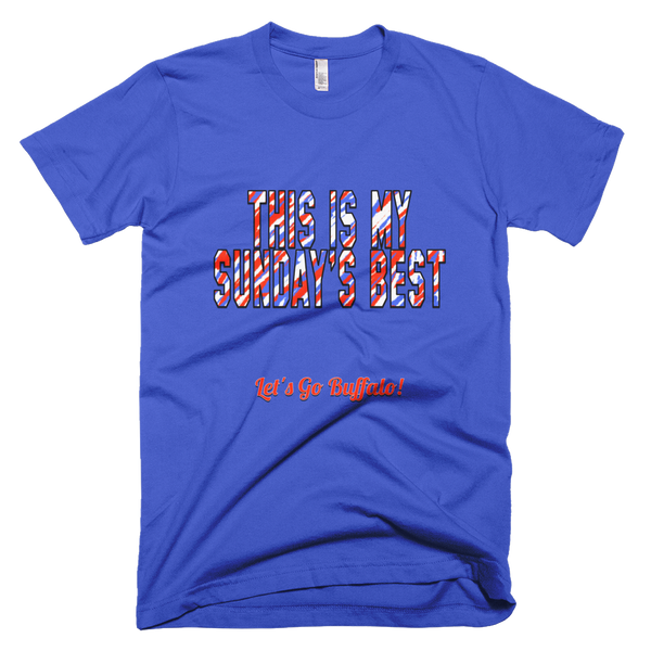 Buffalo Bills This is My Sunday's Best Tshirt
