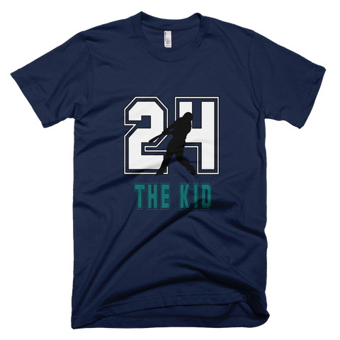 Ken Griffey Jr. 'The Kid' #24 Baseball T-Shirt in Navy