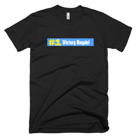 fortnite #1 victory royale tshirt