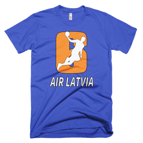 air latvia kristaps porzingis knicks tshirt
