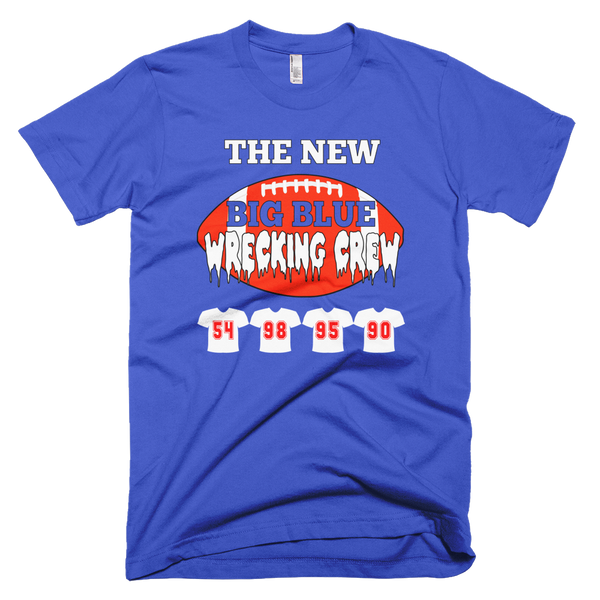 The New BIG BLUE Wrecking Crew Shirt