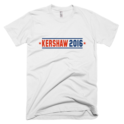 White Kershaw 2016 for President T-Shirt