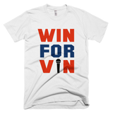 White Win for Vin Los Angeles Dodgers T-Shirt