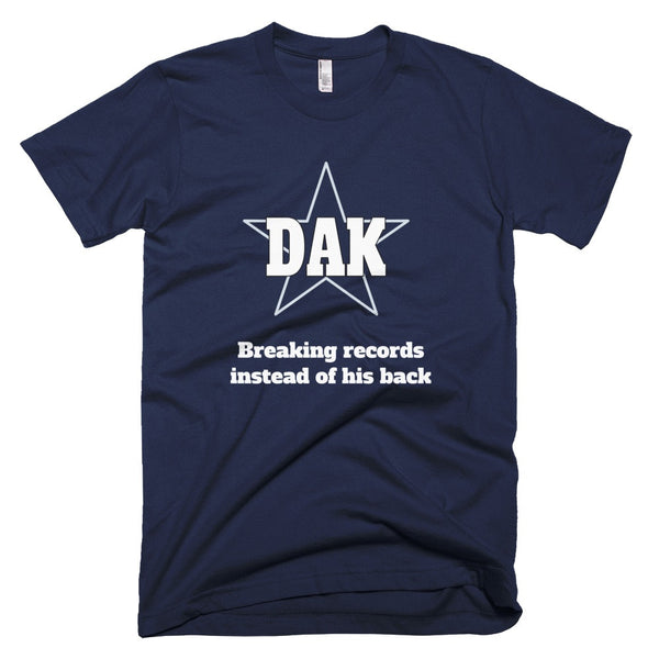 Dak Prescott Record Breaking T-Shirt