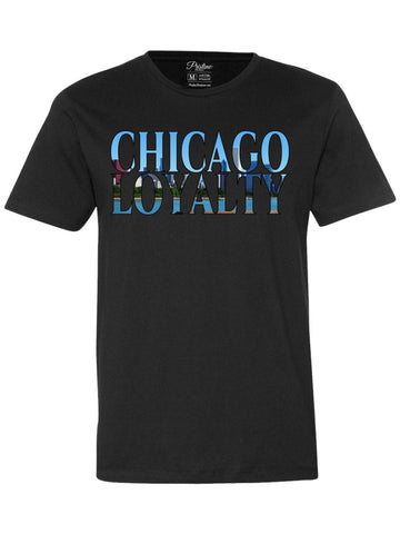 Black Chicago Skyline T-Shirt - The Loyalty Collection