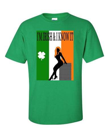 I'm Irish & I Know It St.Patrick's Day Graphic Tee