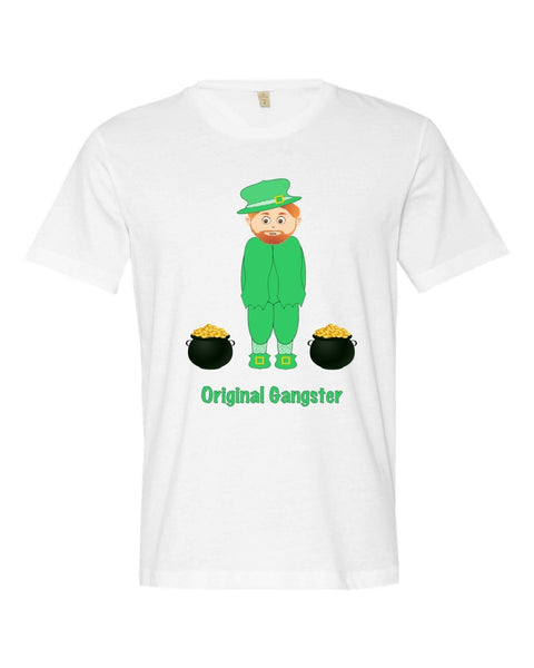 Leprechaun Original Gangster St.Patrick's Day Graphic Tee