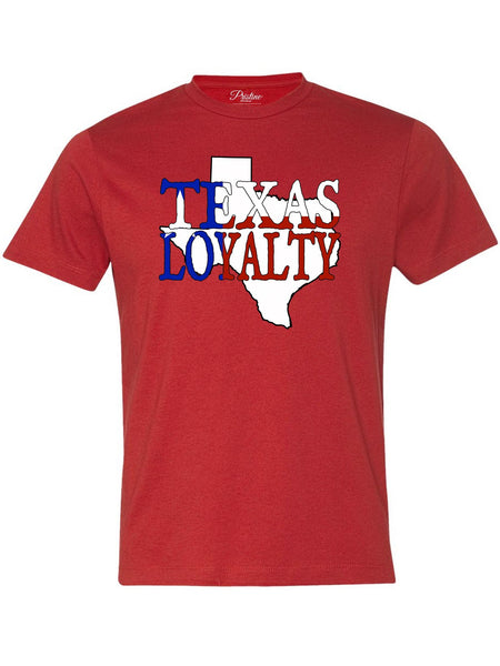 Red Texas Loyalty T-Shirt