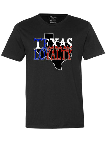 Black Texas Loyalty T-Shirt