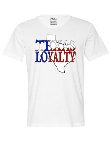 White Texas Loyalty T-Shirt