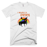 i believe in unicorns porzingis knicks white tshirt