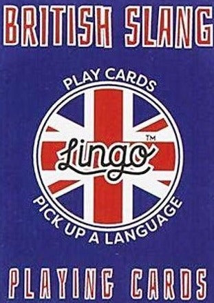 ginger fox game 'lingo playing cards british slang' - the-tangerine-fox
