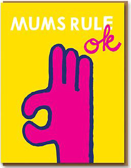 nineteen seventy three card 'mums rule ok' - the-tangerine-fox