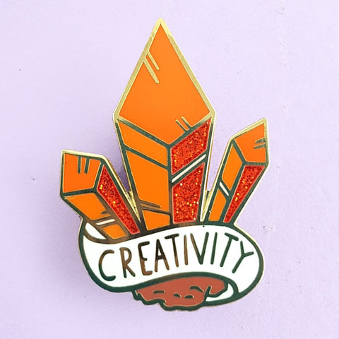 jubly-umph enamel pin cluster of creativity
