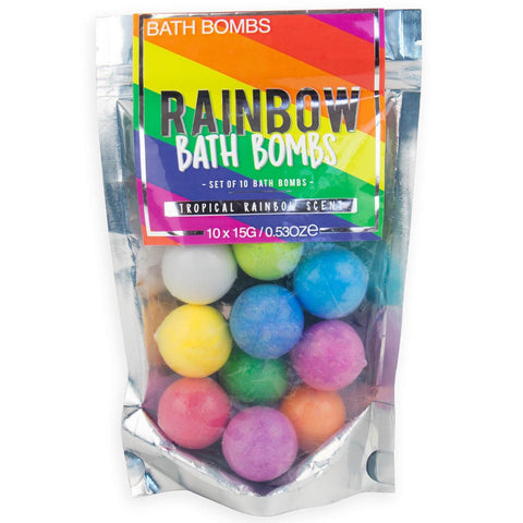 gift republic 'rainbow bath bombs'