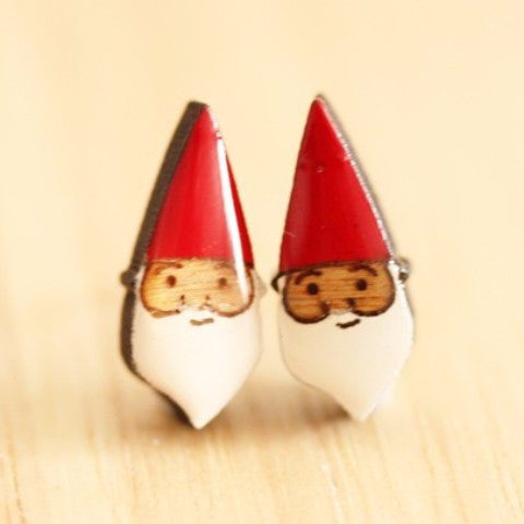 bok bok b'gerk earrings 'gnome'