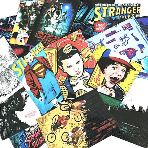 sticker pack 'stranger things' 18 pcs