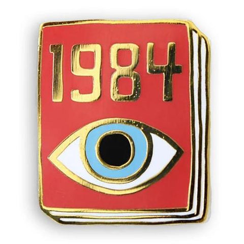 jane mount book pin '1984'