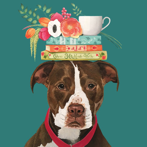 la la land greeting card 'good boy'
