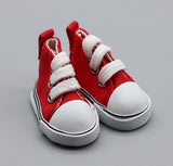 miniature 'converse shoes' red