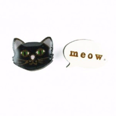 BOK BOK B'GERK 'STELLA THE CAT' EARRINGS
