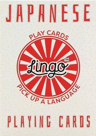 ginger fox playing cards 'lingo japanese'