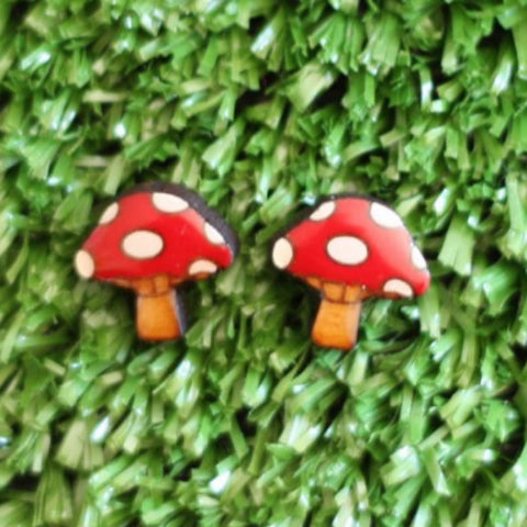 BOK BOK B'GERK 'TOADSTOOL' EARRINGS