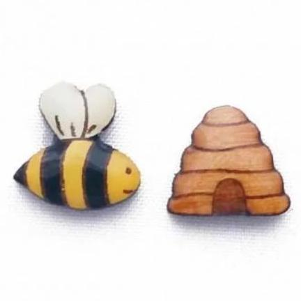 bok bok b'gerk earrings 'bee & hive'