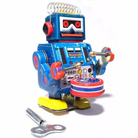 RETRO TIN TOY 'DRUMMER ROBOT'