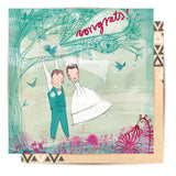 la la land greeting card 'wedding'