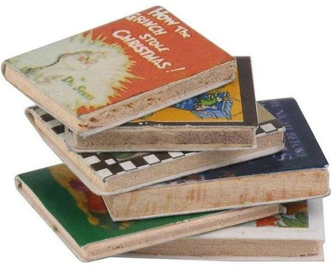 miniature books 'childrens classics' 6 set