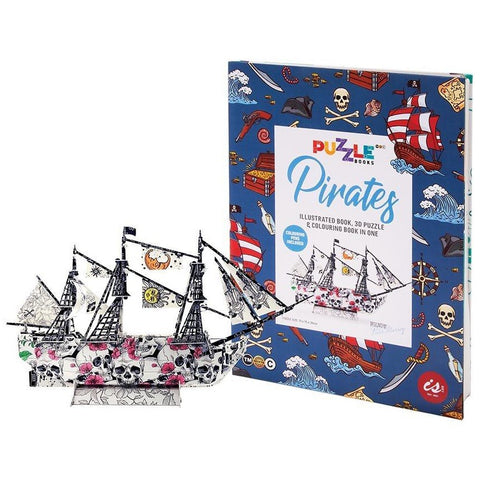 puzzle book 'pirates'