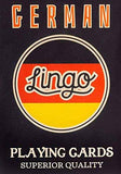 ginger fox playing cards 'lingo german'