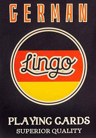 ginger fox game 'lingo playing cards german'